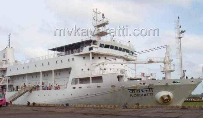 M.V.KAVARATTI Cruise Packages, Lakshadweep Islands, India