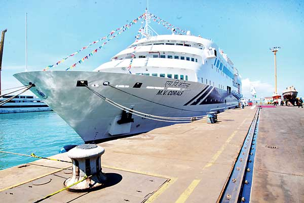 New Passenger Ship 'M V Corals' to Lakshadweep Launched